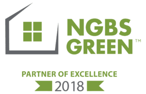 2018 NGBS Green Partner of Excellence Logo