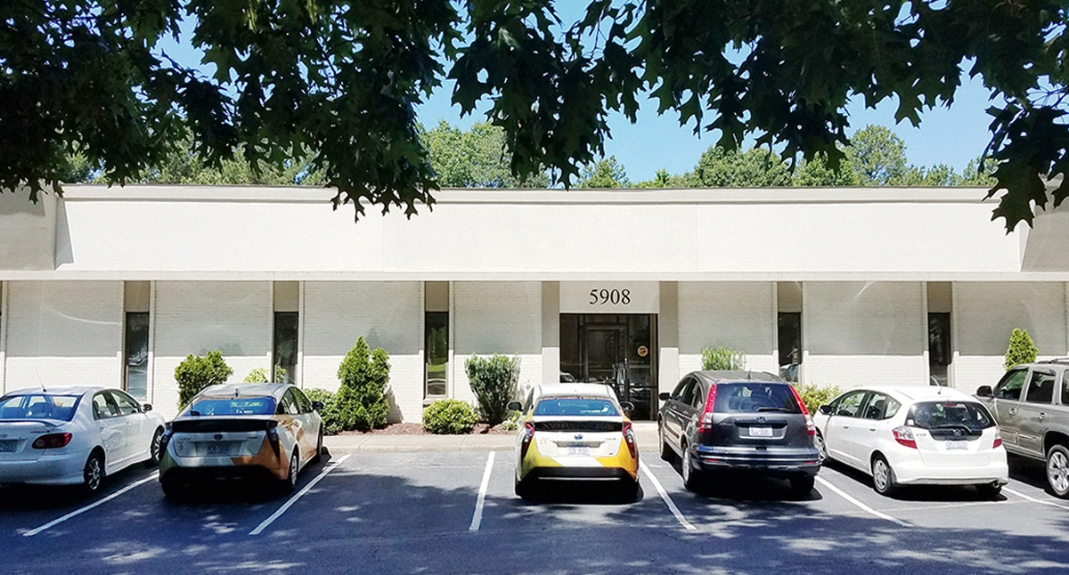 SEM's new building at 5908 Triangle Drive
