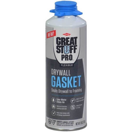 Can of Great Stuff Pro Drywall Gasket