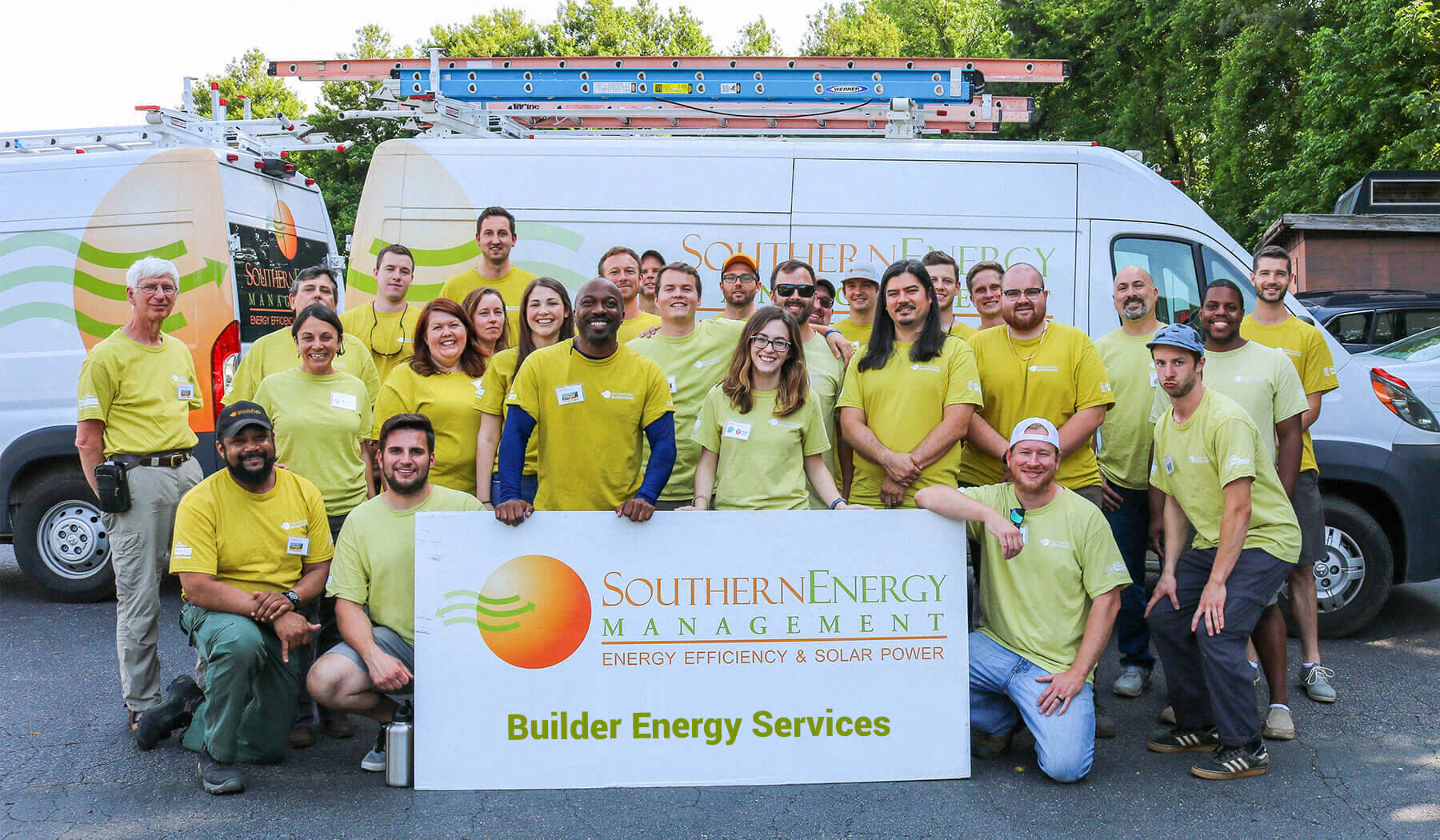 Southern Energy Management's Builder Energy Services team