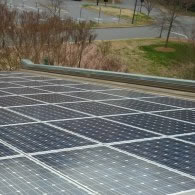Three Types of Solar for Davidson College's Baker Sports Complex
