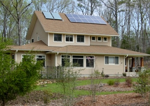"""Grand Slam"" Home: Solar PV, Solar Thermal, Green Building and ENERGY STAR"
