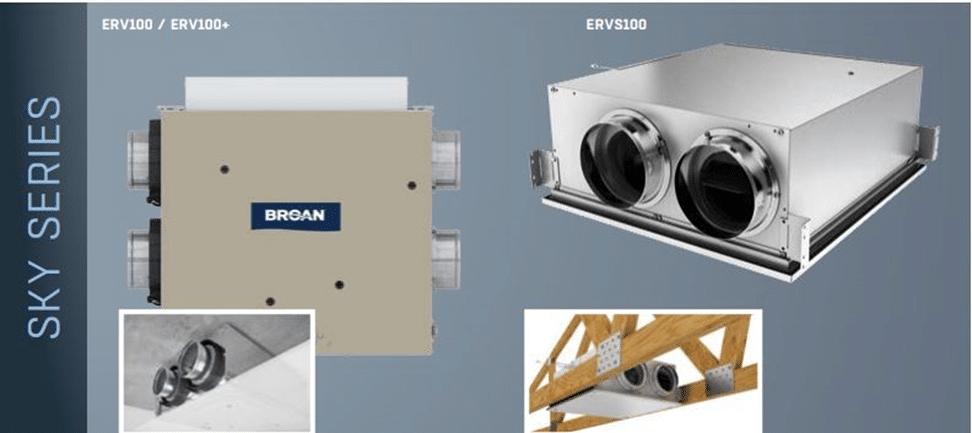 Broan Sky Series Energy Recovery Ventilator