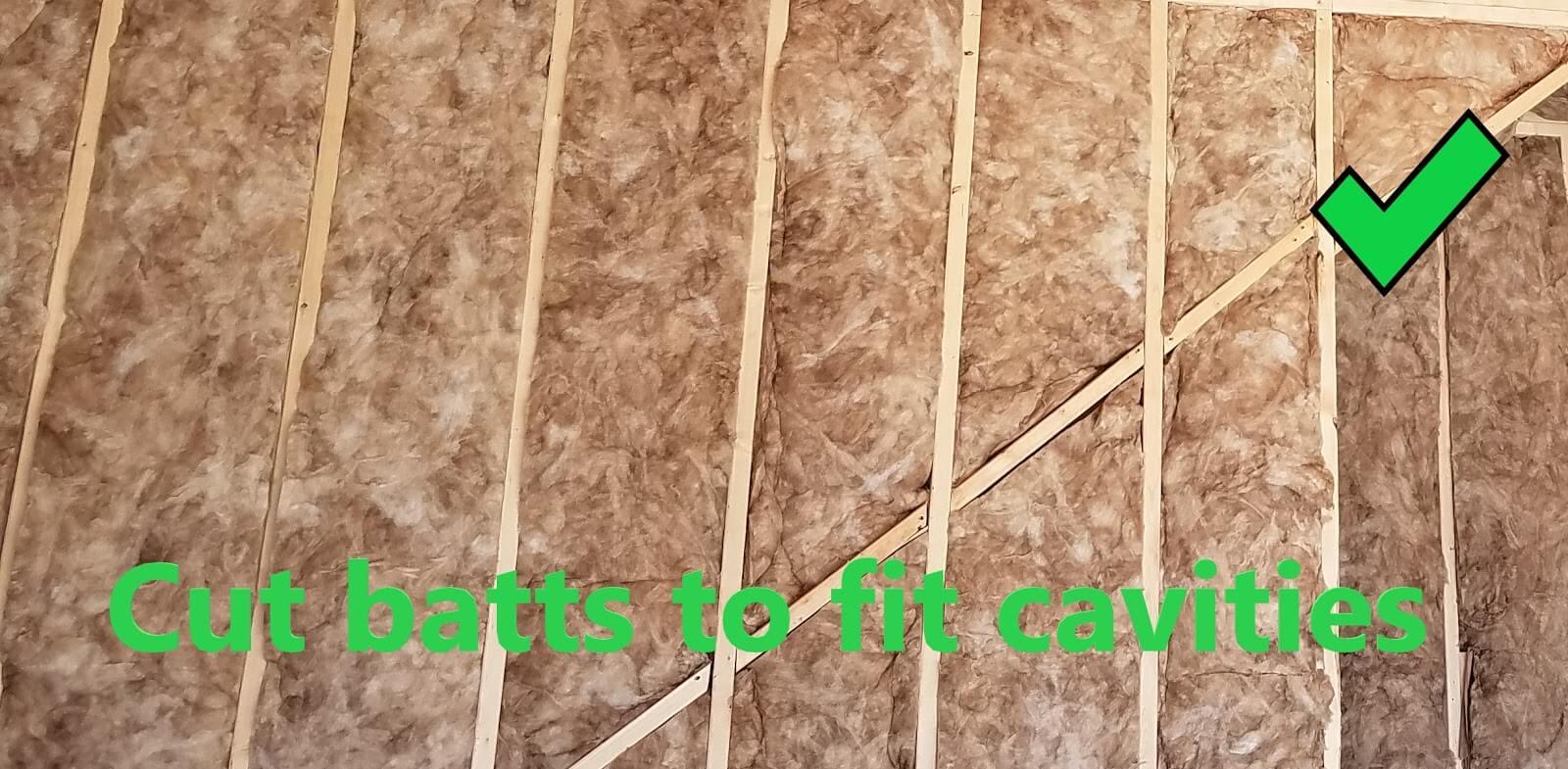 Compressed Batts (Good)_Grade 1 Insulation