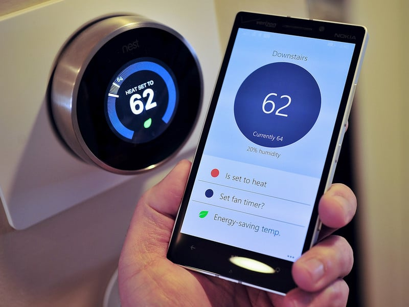 Nest Smart Thermostat and Energy Savings App