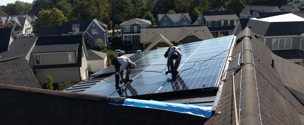 An Efficient Home Goes Solar