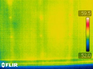 Thermal Image of Grade I Insulation