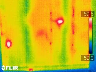 Thermal Image of Grade II Insulation