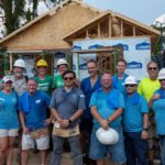 Grubb Properties sponsors Habitat for Humanity of Orange County, NC 300th home