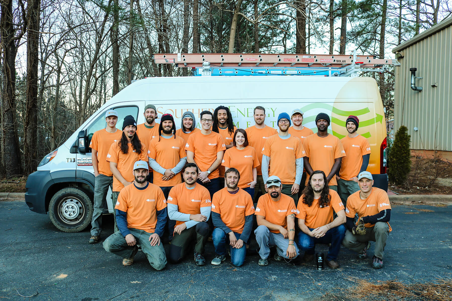 Solar Installation Crew - Southern Energy Management