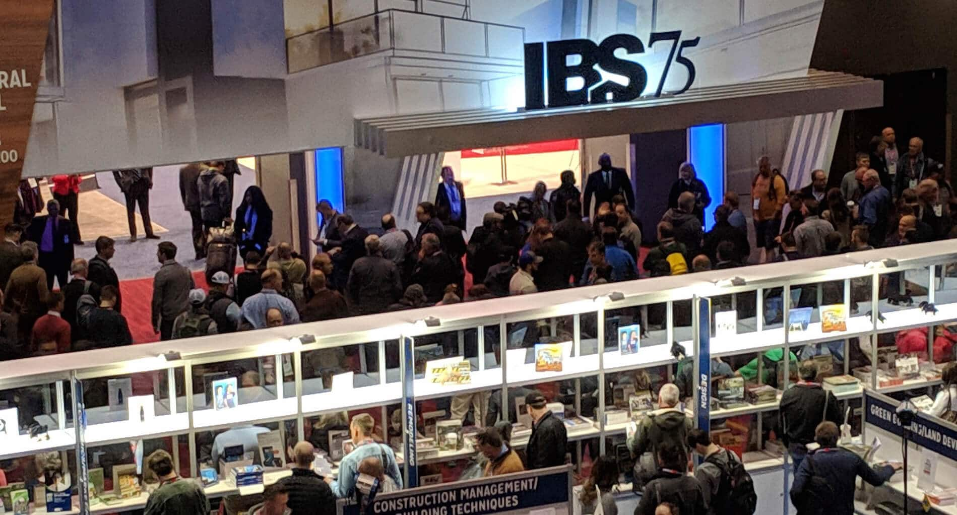 2019 NAHB IBS view of the expo floor