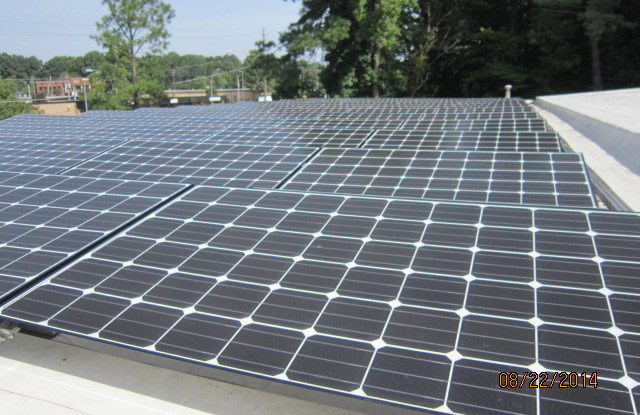 Cary Auto Garage Goes Solar
