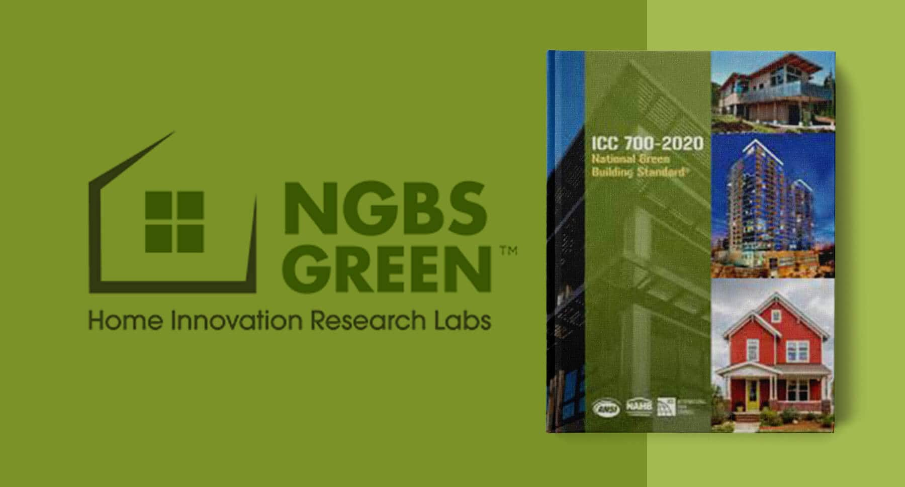 Cover of the ICC 700-2020 NGBS