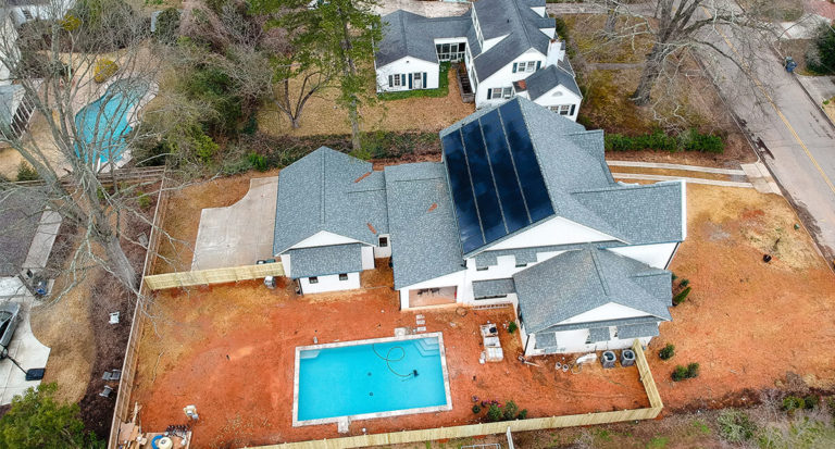 Powering A New Construction Home With Solar In NC