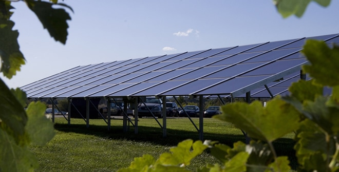Solar Stays Local at the Vineyards