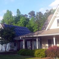 Large Garage Solar