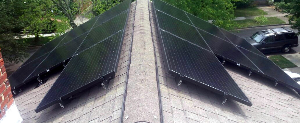 Roof Straddled Solar