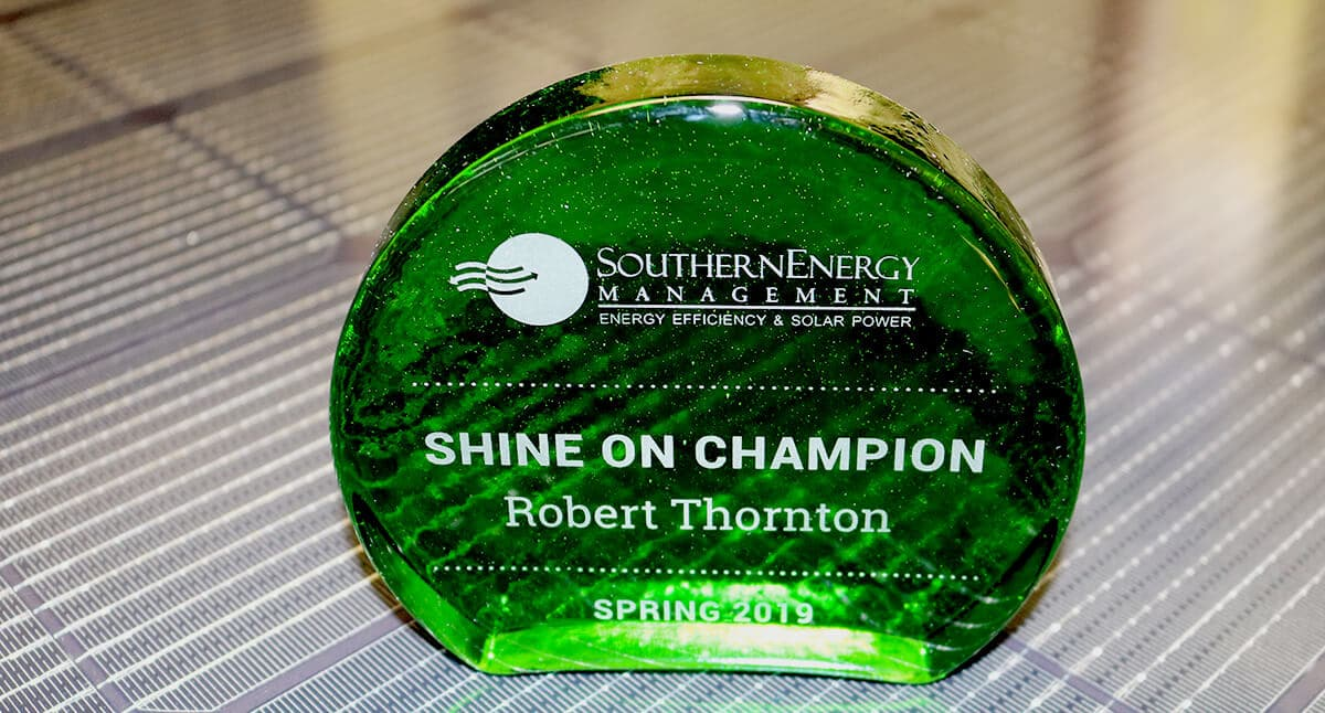 The 2019 Spring Shine On Champion Award for Robert Thornton