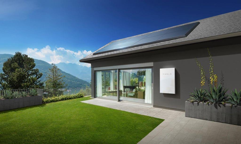 Tesla Powerwall Home Mockup