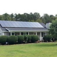 Two Dozen Solar Panels in Mebane, NC