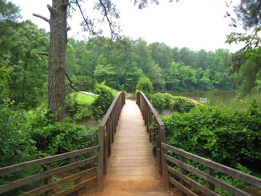Bridge into Umstead State Park, Raleigh NC