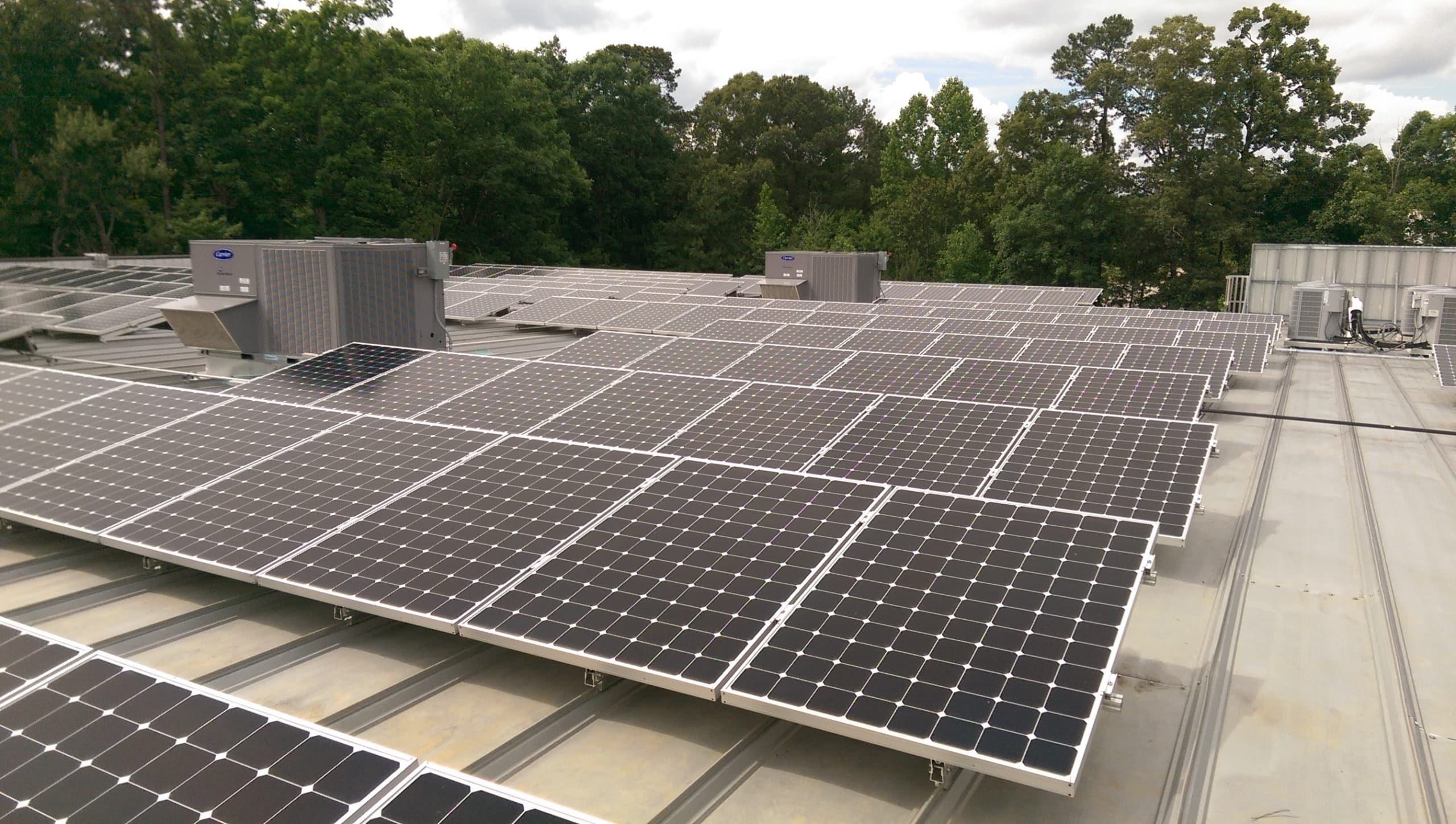 Commercial Solar Installation at West Star Precision