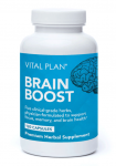 Bottle of Brain Boost supplements from Vital Plan
