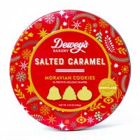 Dewey's Salted Caramel Moravian Cookie Gift Tin