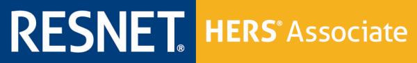 RESNET HERS Associate Horizontal Logo