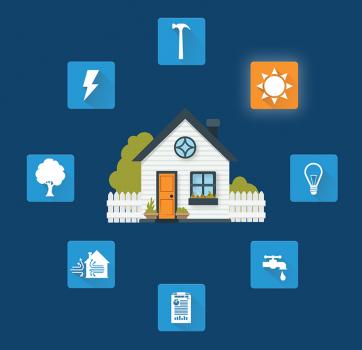 Zero Energy Blueprint Diagram