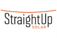 Straight Up Solar Logo