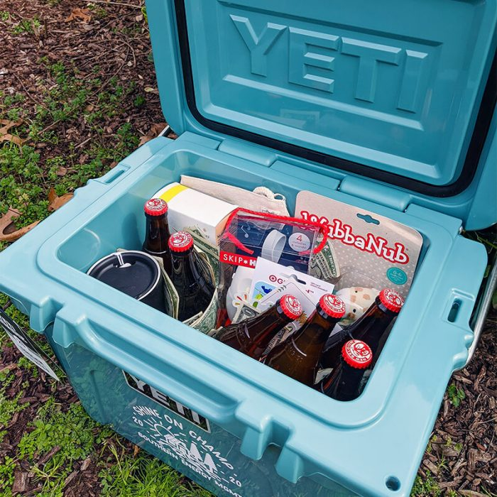 Inside the Winter 2020 Yeti Cash Cooler Prize