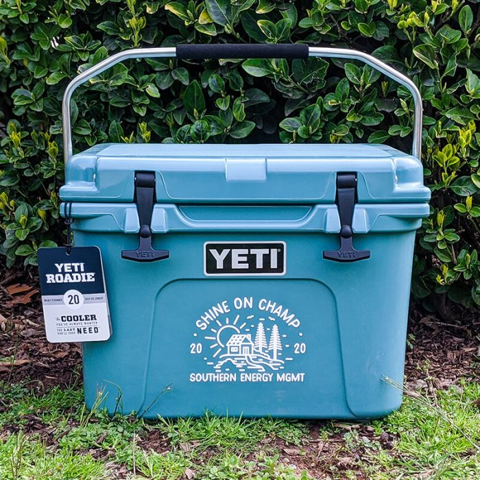 Winter 2020 Shine On Champ Yeti Cooler Prize