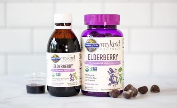 Garden of Life Elderberry Supplements