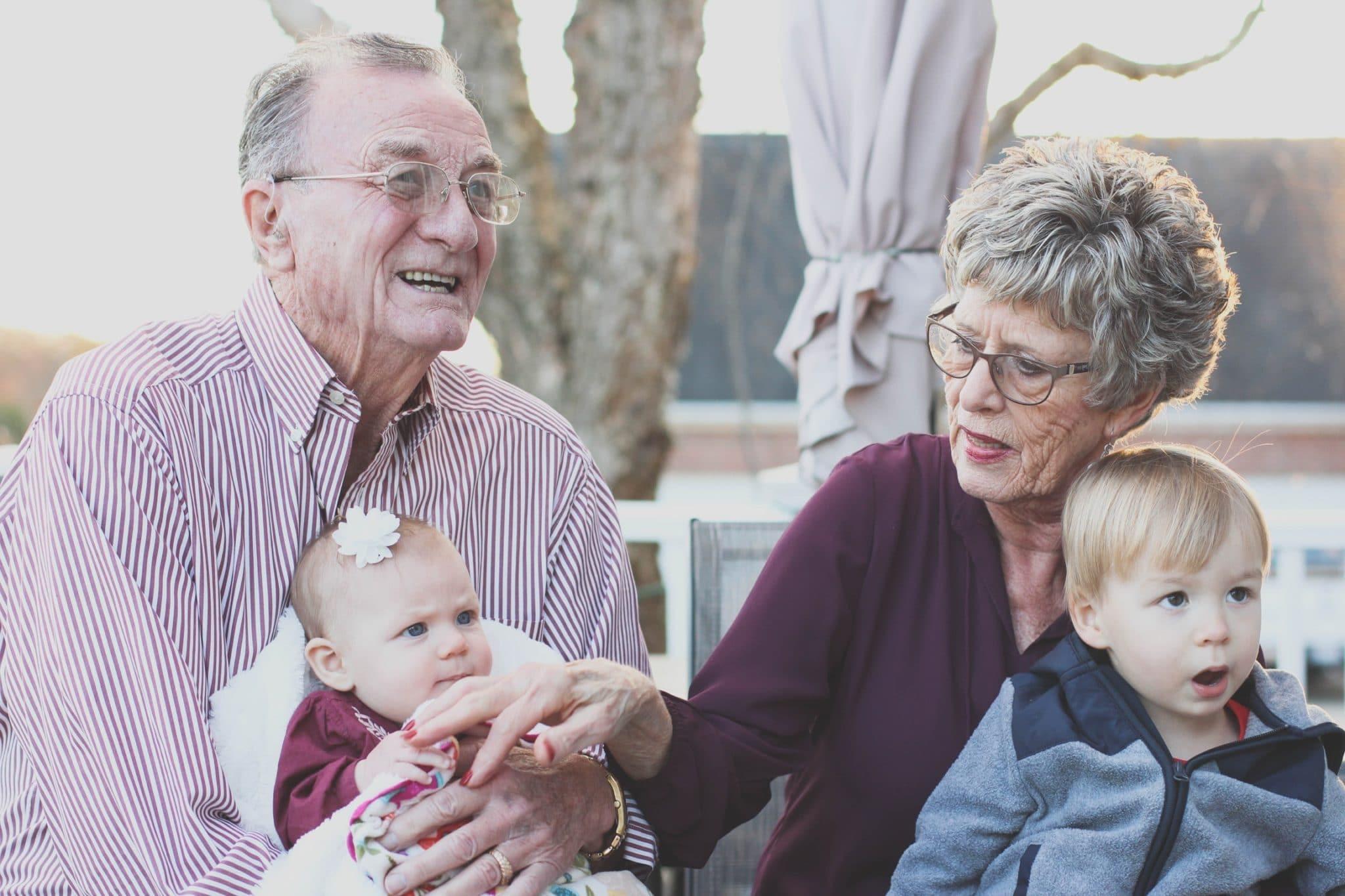 Grandma and Grandpa at a Healthier Home