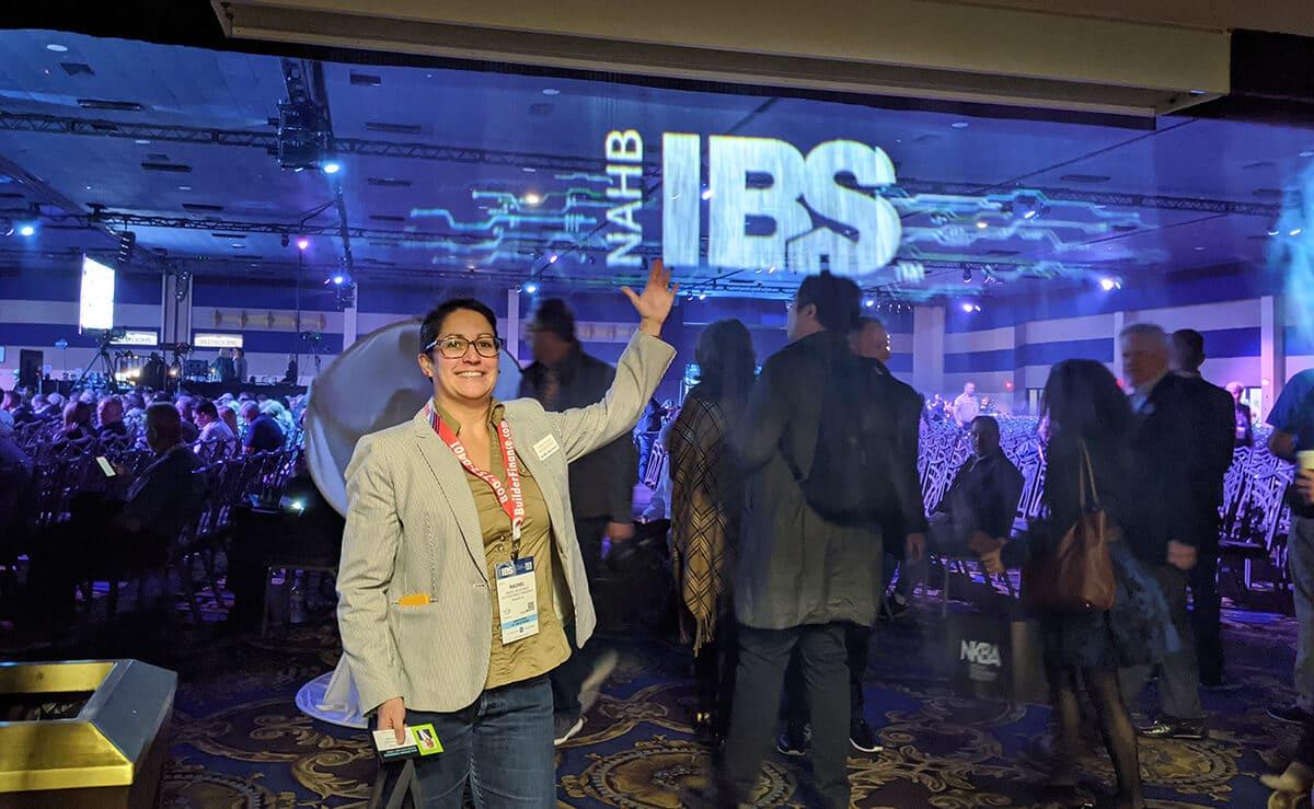 Rachel at IBS 2020
