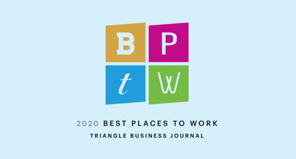 2020 Best Places to Work Logo